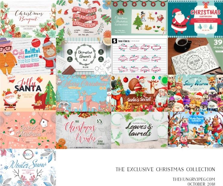 The Exclusive Christmas Collection Web3Canvas