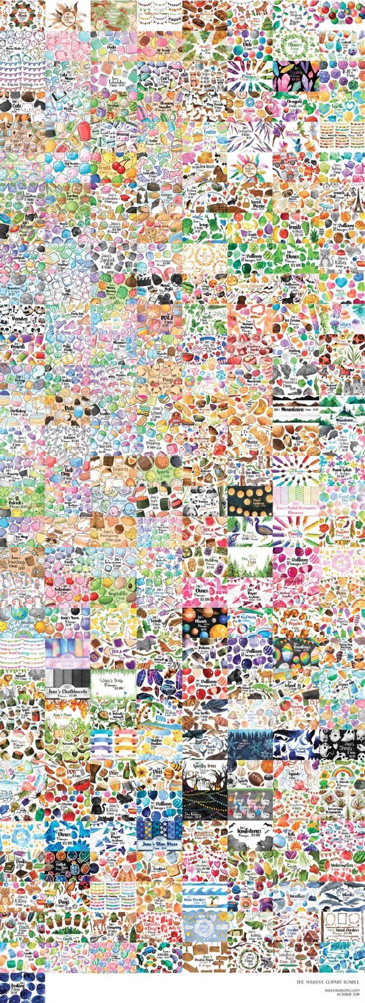The Massive Clipart Bundle Web3Canvas
