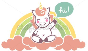 unicorn on A Rainbow Web3CanvaS
