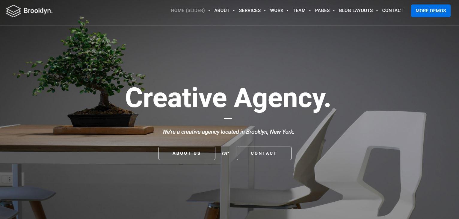 Best Creative Agency Wordpress Themes Web3canvas
