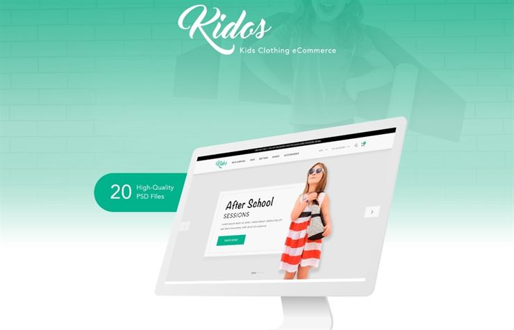 Kidos eCommerce Template Web3Canvas