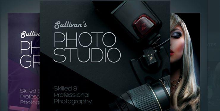 Photography Flyer PSD Template Web3Canvas