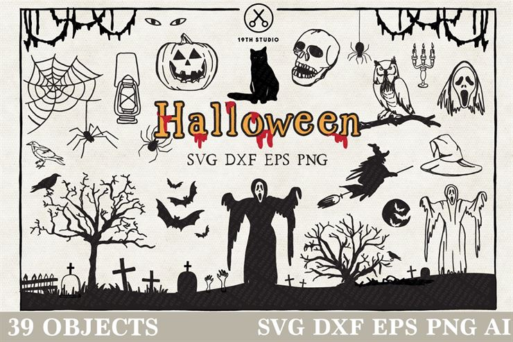 Halloween Illustration Pack Web3Canvas