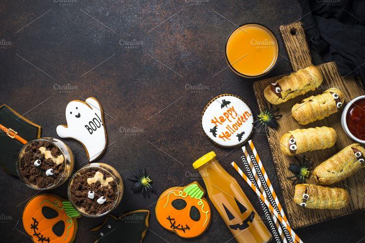 Halloween food Web3Canvas