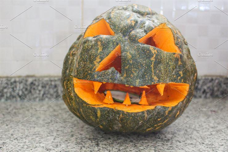 Pumpkin Halloween Detail Web3Canvas