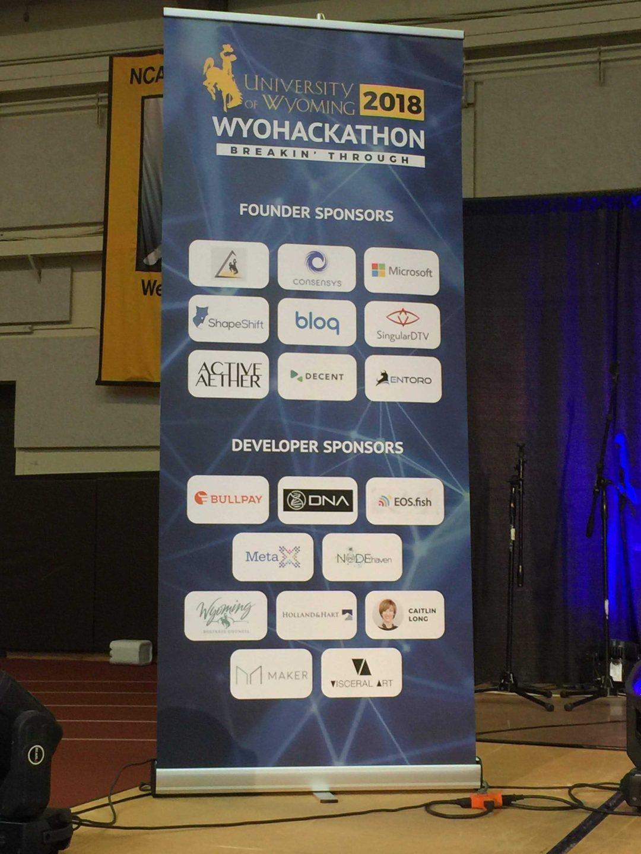 Wyohackathon Banner