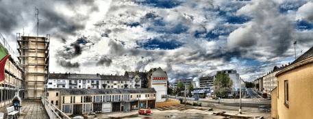 Photo - HDR - Dezernat 16 - Old fire station Heidelberg - Panorama