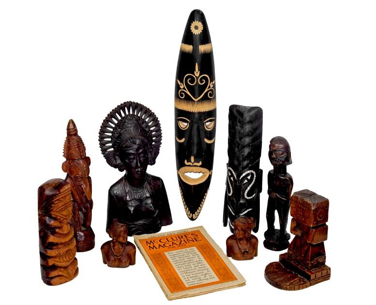 Polynesian Artifacts 3-20-18 ii white background