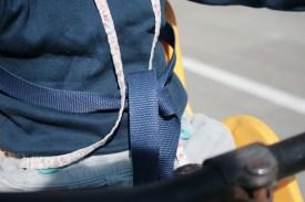 Fahrradfahren mit Kind in Italien - zwischen knatternden Rollern, hupenden Autos und fluchenden Fahrern. Das klingt nach Abenteuerurlaub. Ist es auch. (Foto: Julia Marre)