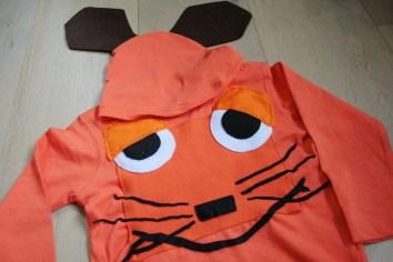 Hier kommt die Maus: das fertige Kostüm. Foto: Julia Marre