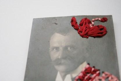 Pimp mein Porträt: Wenn Uropa Albert wüsste, was aus seinem Festtagsanzug geworden ist... Foto: Julia Marre