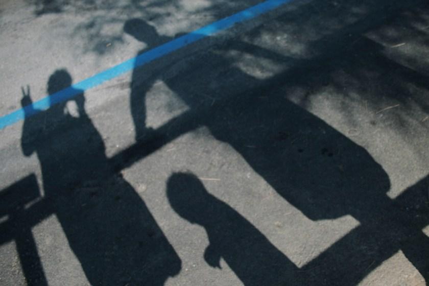 Mal etwas anderes: das Schatten-Selfie. Foto: Julia Marre