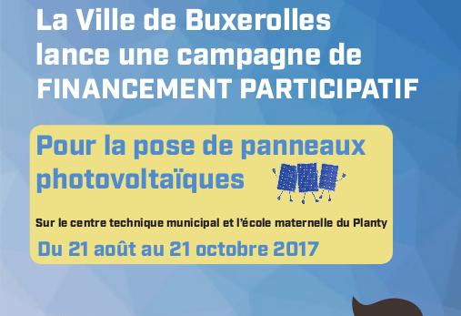 la ville de Buxerolles lance sa première campagne de financement participatif