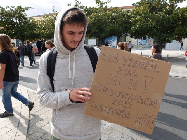 Jeudi 21 septembre dans la Vienne contre les ordonnances Macron