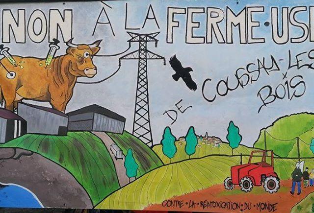 Ferme-Usine de Coussay-les-Bois : pas d'autorisation d'exploiter !