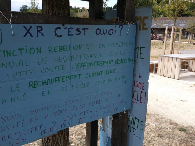 [podcast] Extinction Rébellion Poitiers