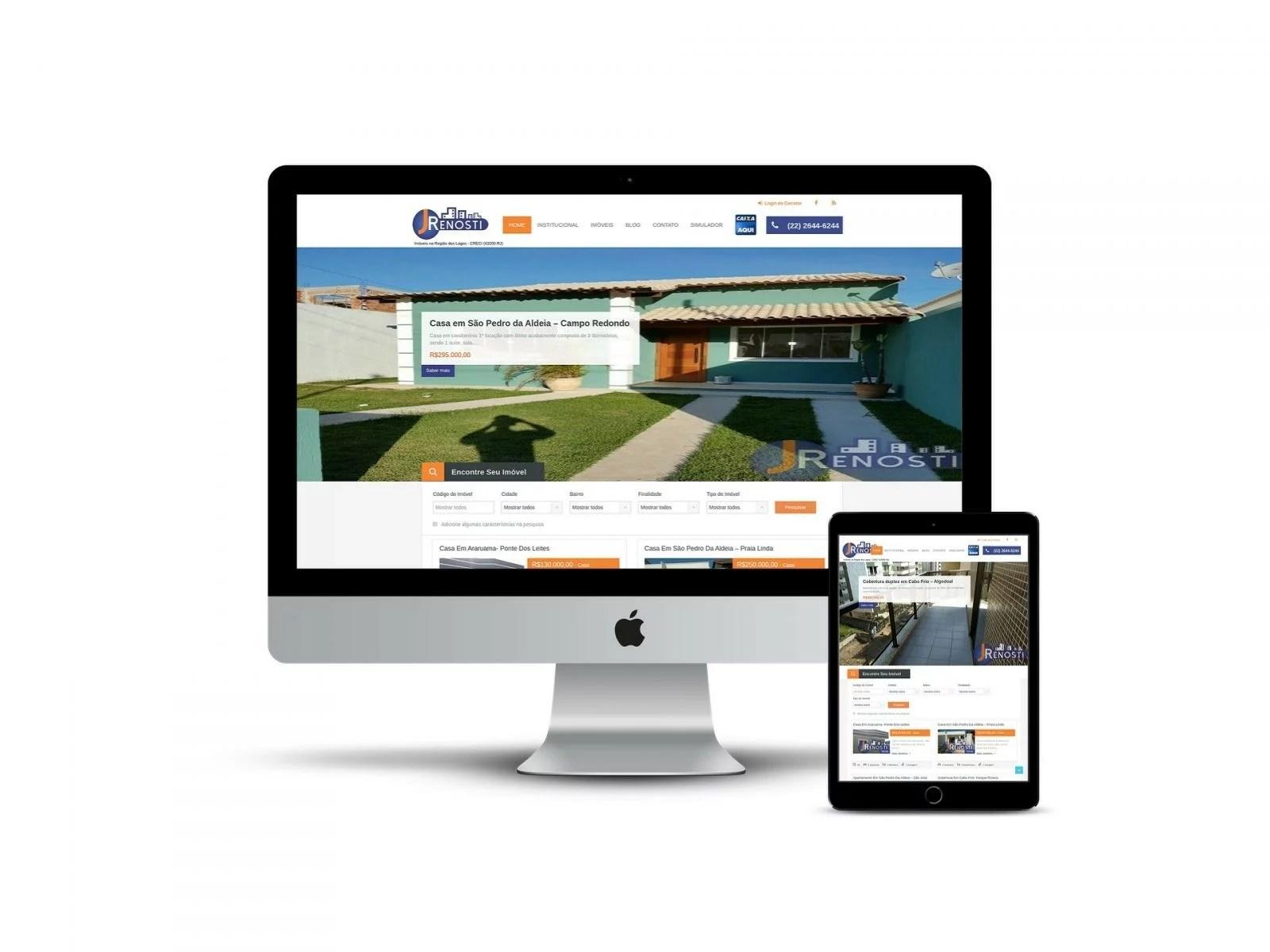 Site Responsivo de Imobiliária