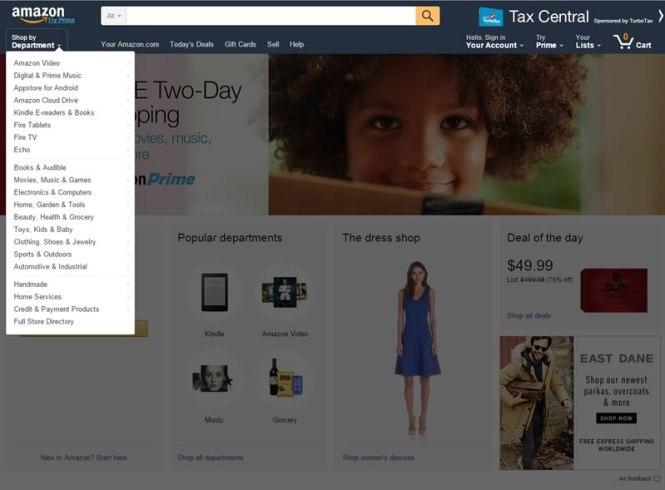 como comprar en amazon - paso 2