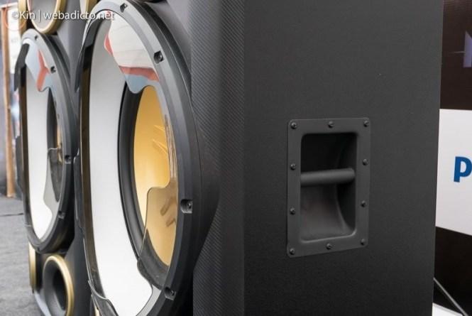 equipo de sonido philips nitro nx9 - agarradera