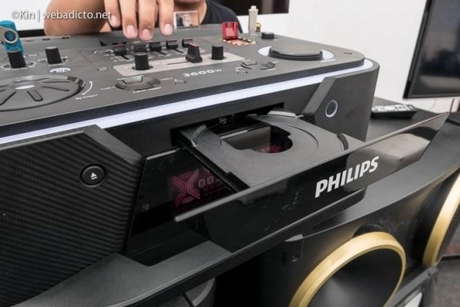 equipo de sonido philips nitro nx9 - CD