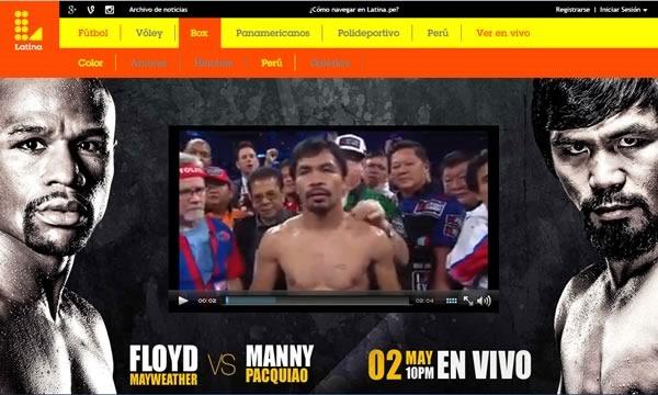 pacquiao vs mayweather 2015 en vivo fecha hora canal - streaming