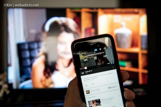 youtube tv controlar desde smartphone tablet pc-1050029