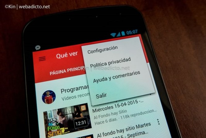 youtube tv controlar desde smartphone tablet pc-1050035