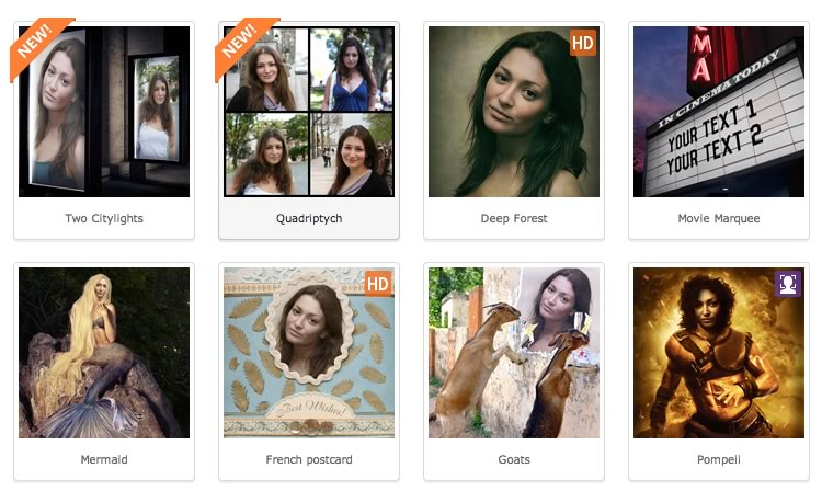 Crea fotomontajes divertidos en Photofunia desde tu pc o celular