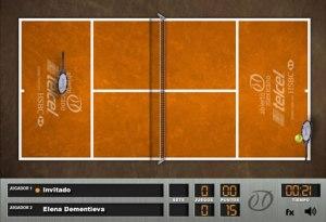 Jugar tenis online gratis