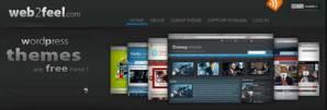 Themes wordpress gratis en Web2feel