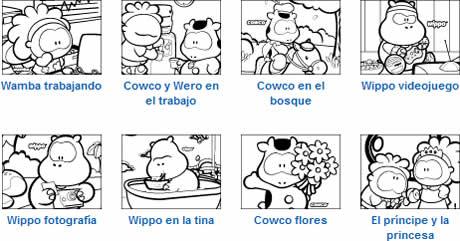 Dibujos Para Colorear De Gusanito
