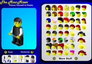 Avatares tipo lego en Mini-Mizer