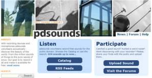 Efectos de sonido, descargalos en PDsounds.org