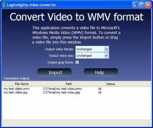 Convertir videos a WMV con ConvertToWMV