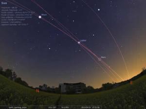 Observa las estrellas y planetas en tu computadora con Stellarium