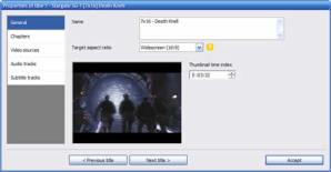 Crear dvds con DVD Flick