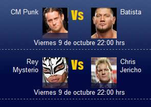 WWE SmackDown online, 9 de Octubre