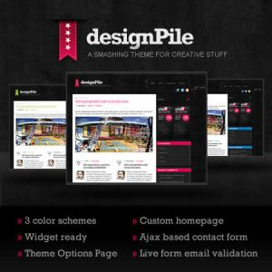 Themes wordpress gratis, designPile