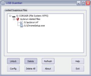 Virus usb, evitalos con USB Guardian