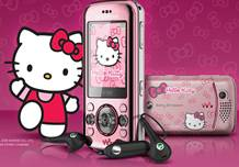 Sony ericsson W395 edición Hello Kitty