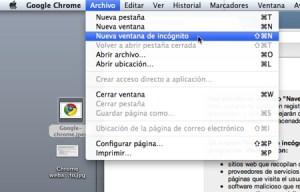 Cómo navegar en Google Chrome y que no se guarde en tu historial