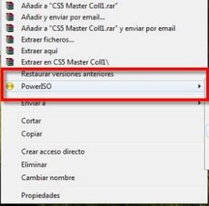 Como montar o correr una imagen o archivo ISO