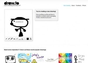 Draw.to dibuja y comparte desde internet