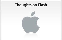 Steve Jobs hace una carta en sus «Pensamientos sobre Flash»