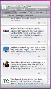 Babble, controla Twitter, Facebook y Youtube con una sola aplicación