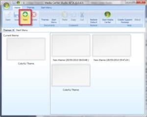 Como cambiar la imagen de fondo de Windows Media Center