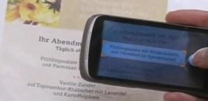 Google Goggles se perfecciona y ahora traduce texto en tiempo real