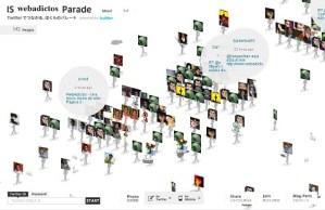 Tus seguidores en Twitter desfilando con IS Parade