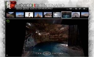 Paseo virtual por México, Bicentenario 2010