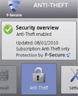 Proteger el celular con F-Secure Anti-Theft